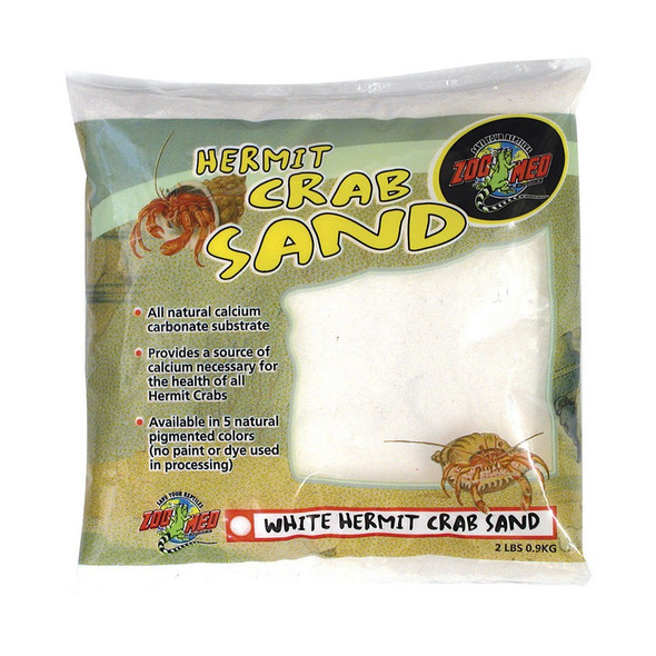 Zoo Med Hermit Crab Sand White