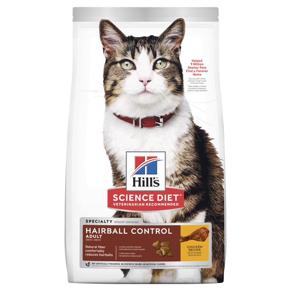 Science Diet Cat Adult Hairball Control 2Kg