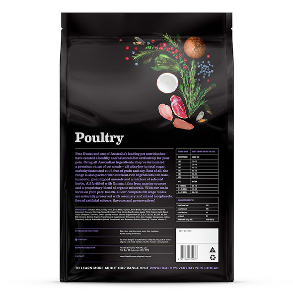 Healthy Everyday Pets Cat Poultry 3Kg