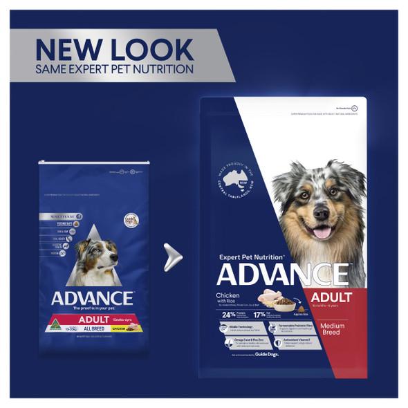 Advance Dog Adult Medium Breed - Chicken 15Kg