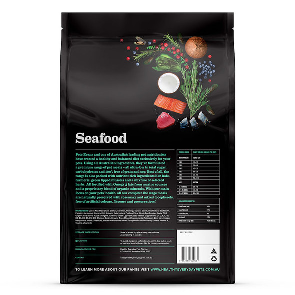 Healthy Everyday Pets Cat Seafood 3Kg