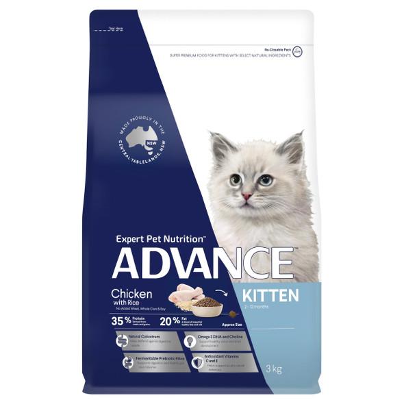 Advance Cat Kitten Growth - Chicken 3Kg