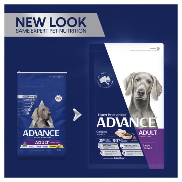 Advance Dog Adult Large Breed - Chicken 15Kg