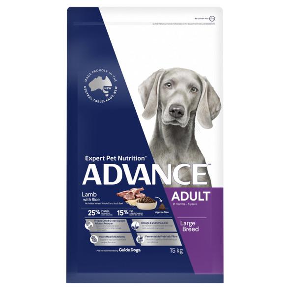 Advance Dog Adult Large Breed - Lamb 15Kg