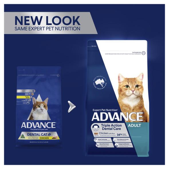 Advance Cat Adult Dental - Chicken 2Kg