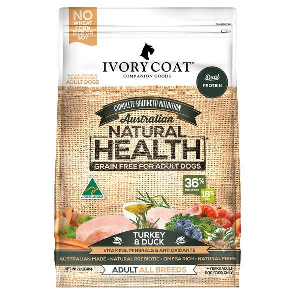 Ivory Coat Dog Turkey & Duck 13Kg