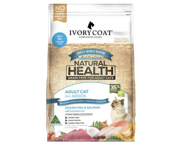 Ivory Coat Cat Ocean Fish & Salmon 3Kg