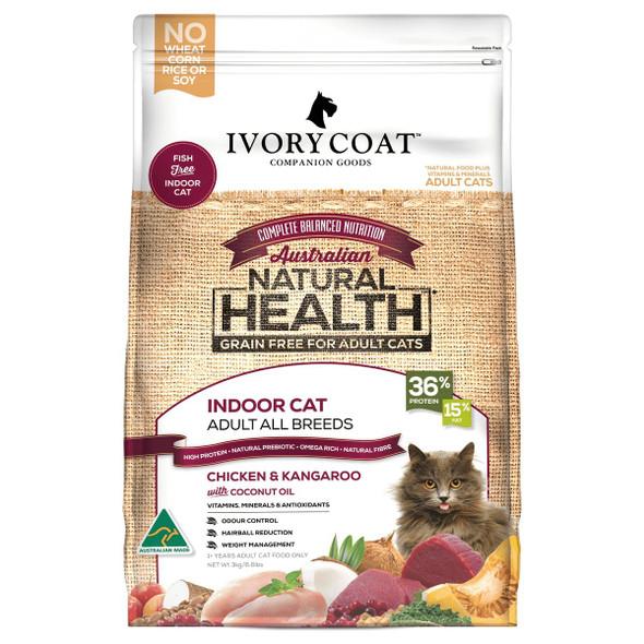 Ivory Coat Cat Chicken & Kangaroo 3Kg