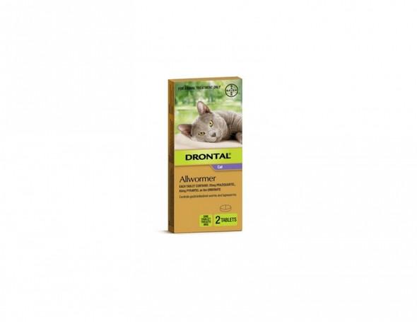 Bayopet Drontal Cat 4Kg 2Pack