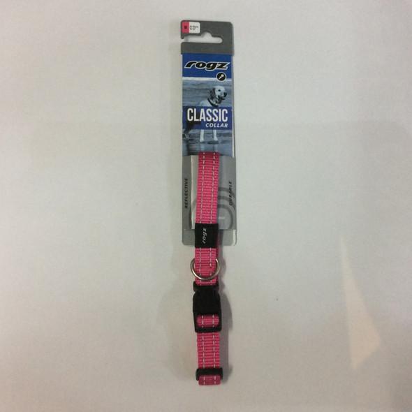 Rogz Snake Collar Pink