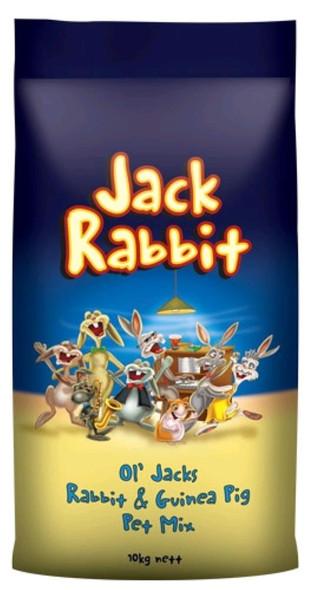 Jack Rabbit Guinea Pig Mix 10Kg