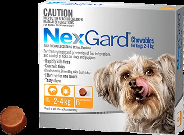 Nexgard 2-4Kg 3Pk