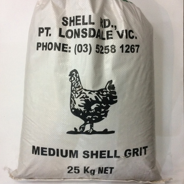 Avigrain - Medium Shellgrit 25Kg