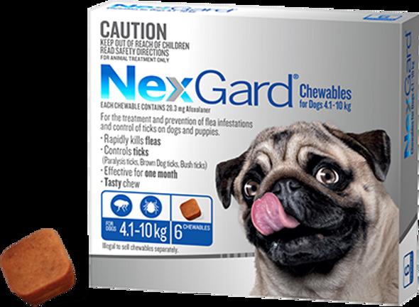 Nexgard Medium 4.1-10Kg 6Pk