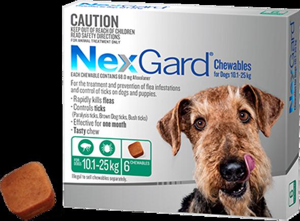 Nexgard 10.1-25Kg 6Pk