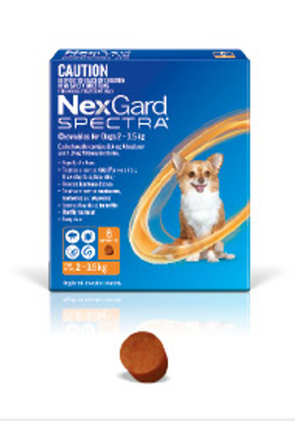 Nexgard Spectra 2-3.5Kg 3Pk