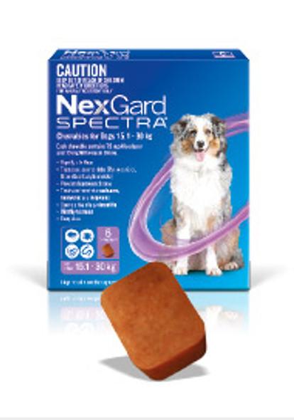 Nexgard Spectra 15.1-30Kg 3Pk