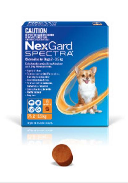 Nexgard Spectra 2-3.5Kg 6Pk