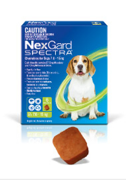 Nexgard Spectra 7.6-15Kg 6Pk