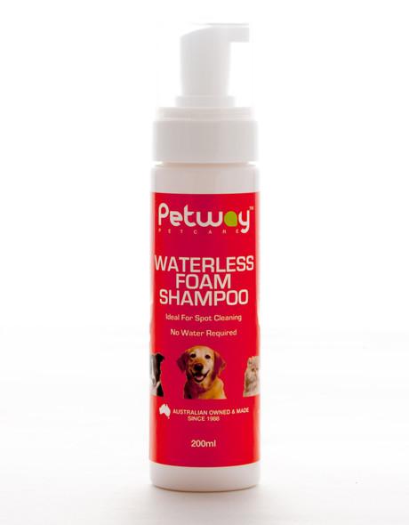 Petway Waterless Foam Shampoo 200Ml