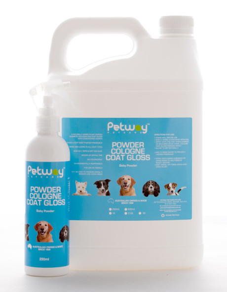 Petway Powder Cologne Coat Gloss 250Ml