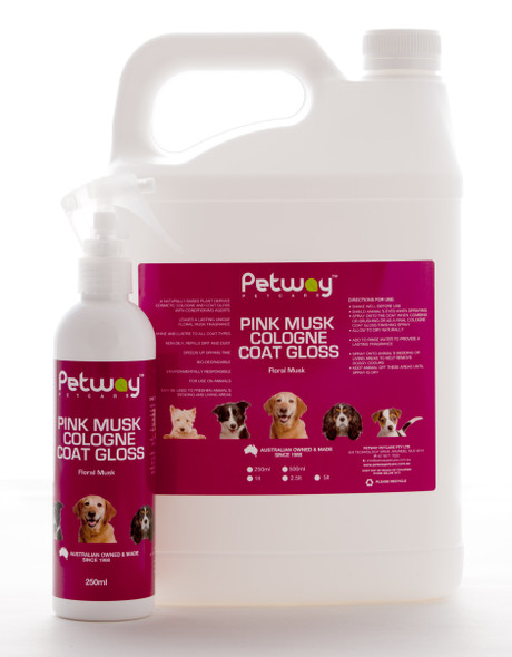 Petway Pink Musk Cologne 250Ml