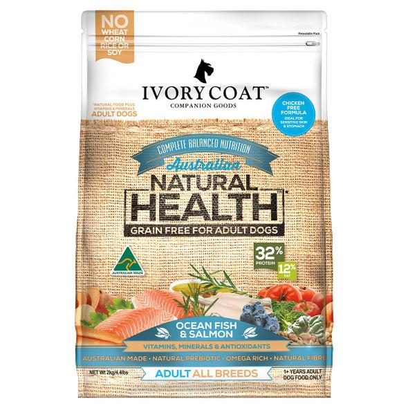 Ivory Coat Dog Salmon & Ocean Fish 13Kg