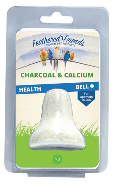 Feathered Friends - Charcoal Calcium Bell 50G