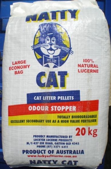 Natty Cat Litter 20Kg