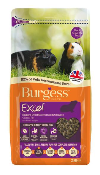 Burgess - Guinea Pig Pellet w/Blackcurrent & Oregano 2Kg