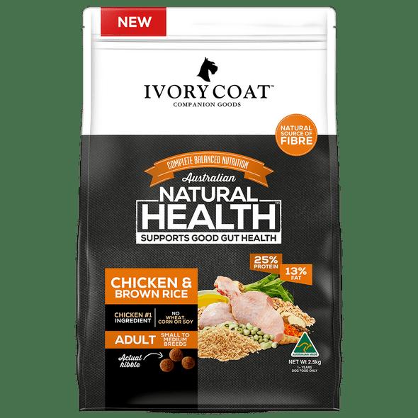 Ivory Coat Wholegrains - Adult Chicken & Brown Rice 18Kg