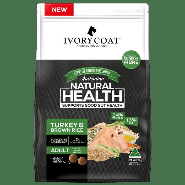 Ivory Coat Wholegrains - Lge Turkey & Brown Rice 2.5Kg
