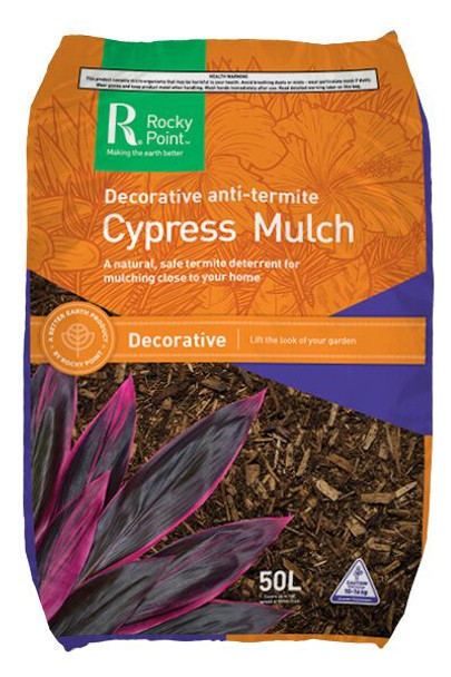 Rocky Point Cypress Mulch Natural 50L