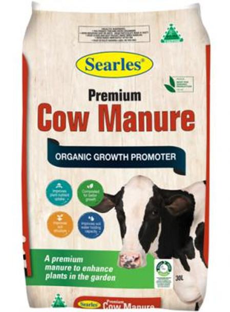 Searles Cow Manure 30L