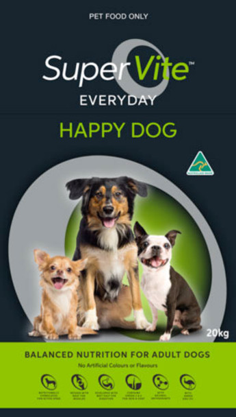 Supervite Happy Dog 20Kg