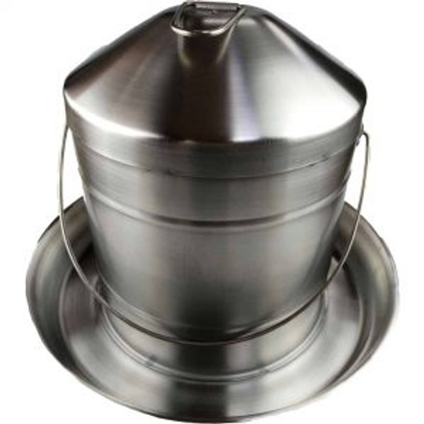 9L Stainless Steel Poultry Drinker