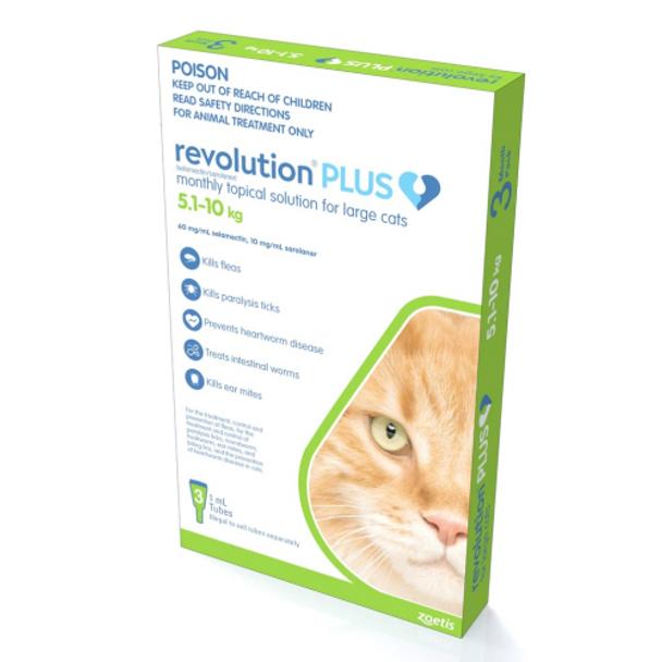 Revolution Plus - Cat 5-10kg 3pk
