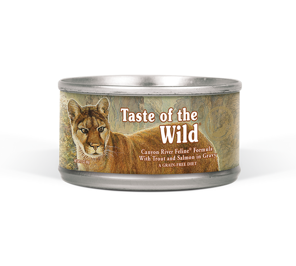 Taste Of The Wild Canyon River Feline Wet 85g