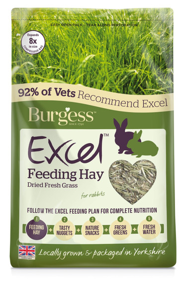 Burgess - Timothy Feeding Hay