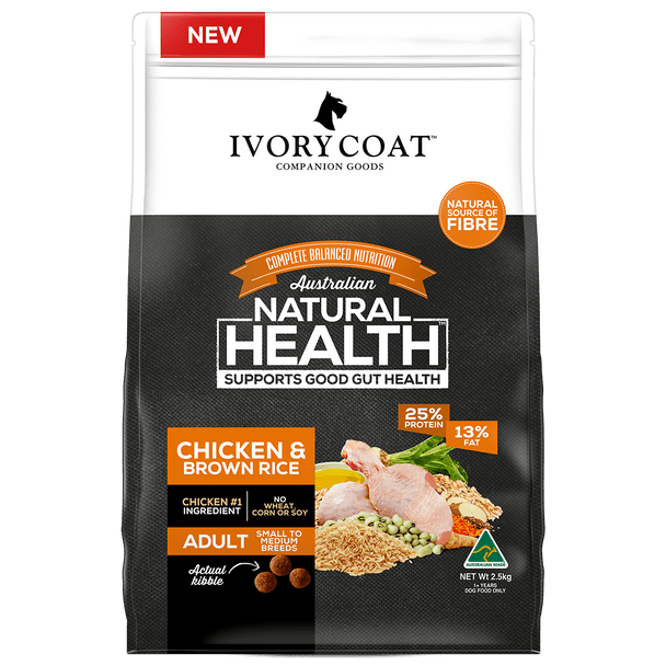 Ivory Coat Wholegrains - Adult Chicken & Brown Rice 18Kg