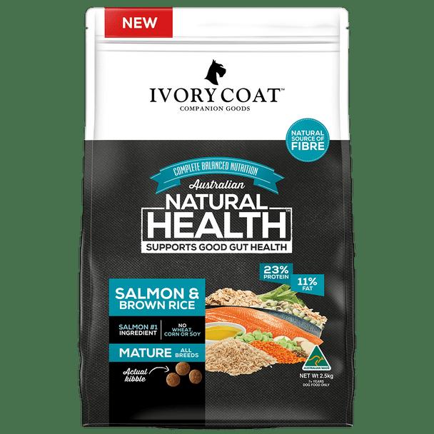 Ivory Coat Wholegrains - Mature Salmon & Brown Rice 2.5Kg