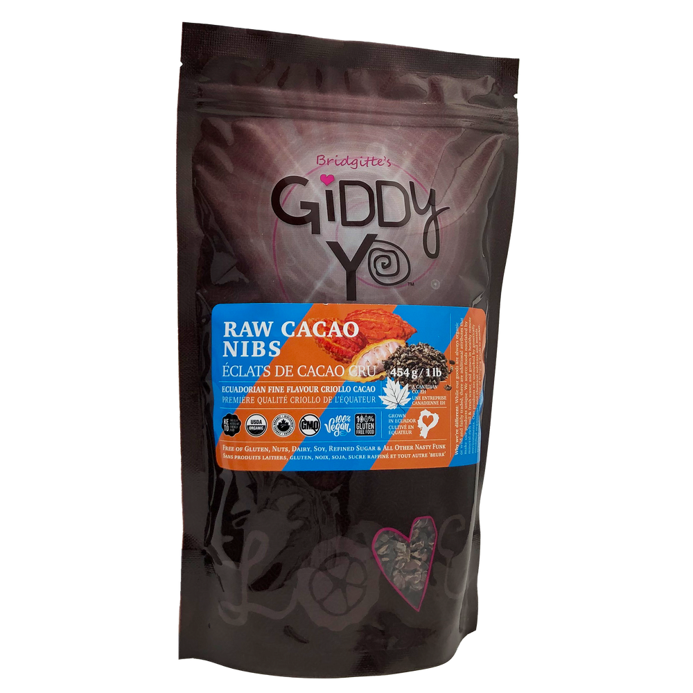 Cacao Nibs (Ecuador) Certified Organic 454g / 1 lb