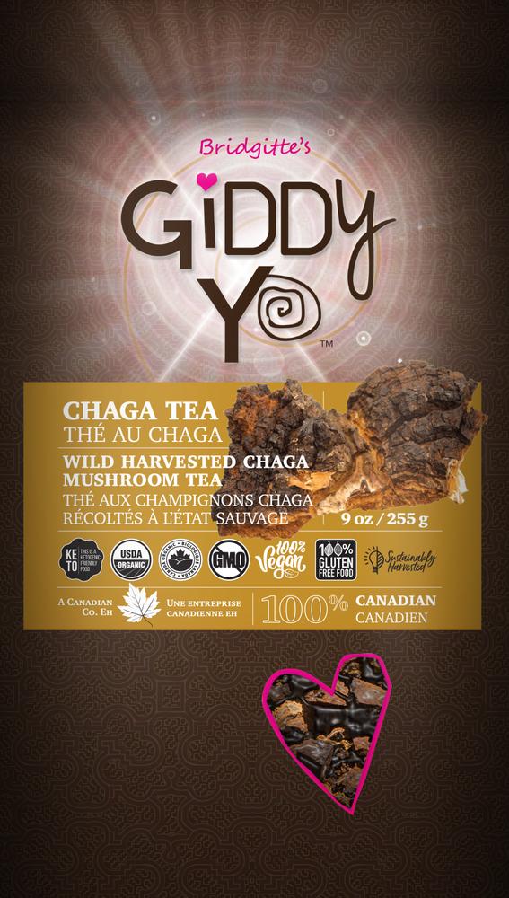 Chaga - Tea Cut (100% Canadian) 255g/9oz