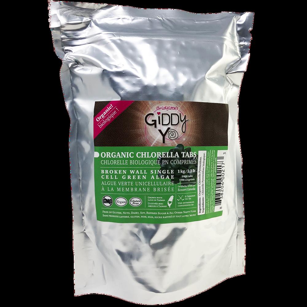CHLORELLA TABLETS (TABS) (Taiwan) Broken Cell Wall 1 kg BULK Certified Organic