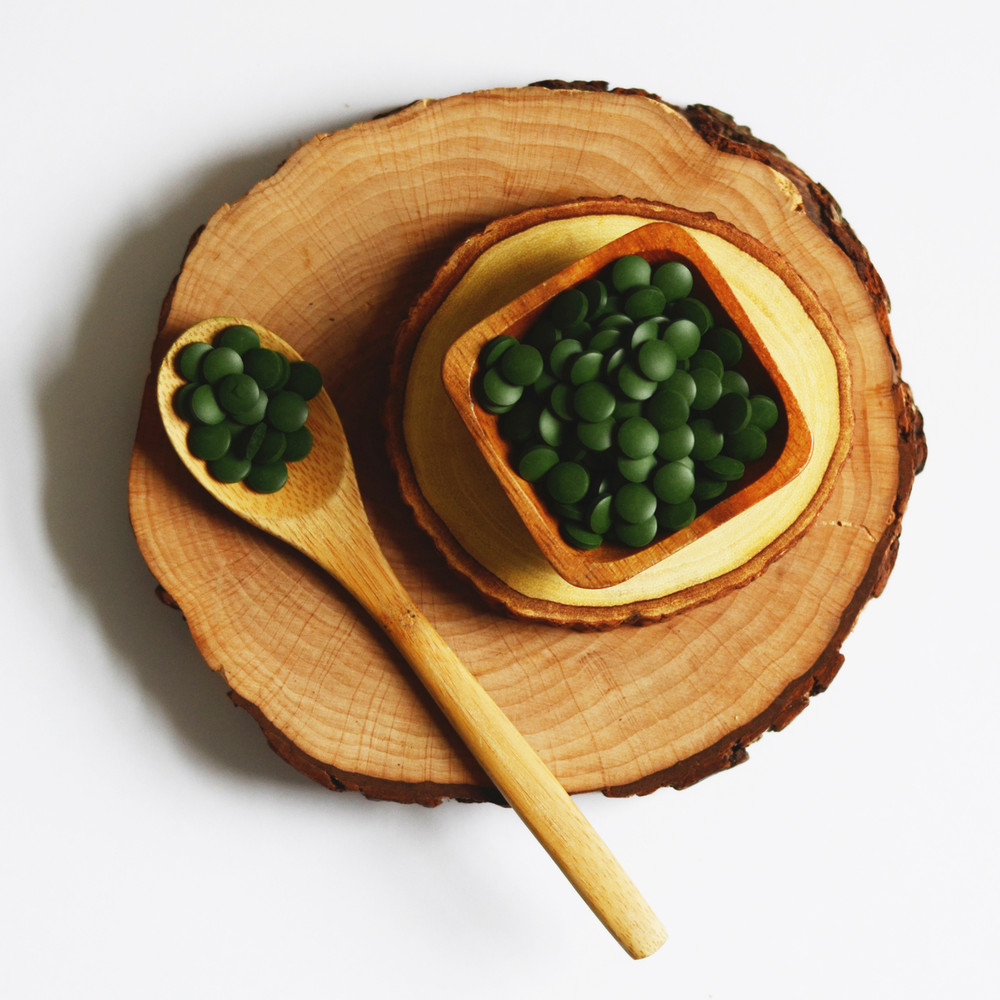 SPIRULINA TABS (TAIWAN) 1kg BULK Certified Organic