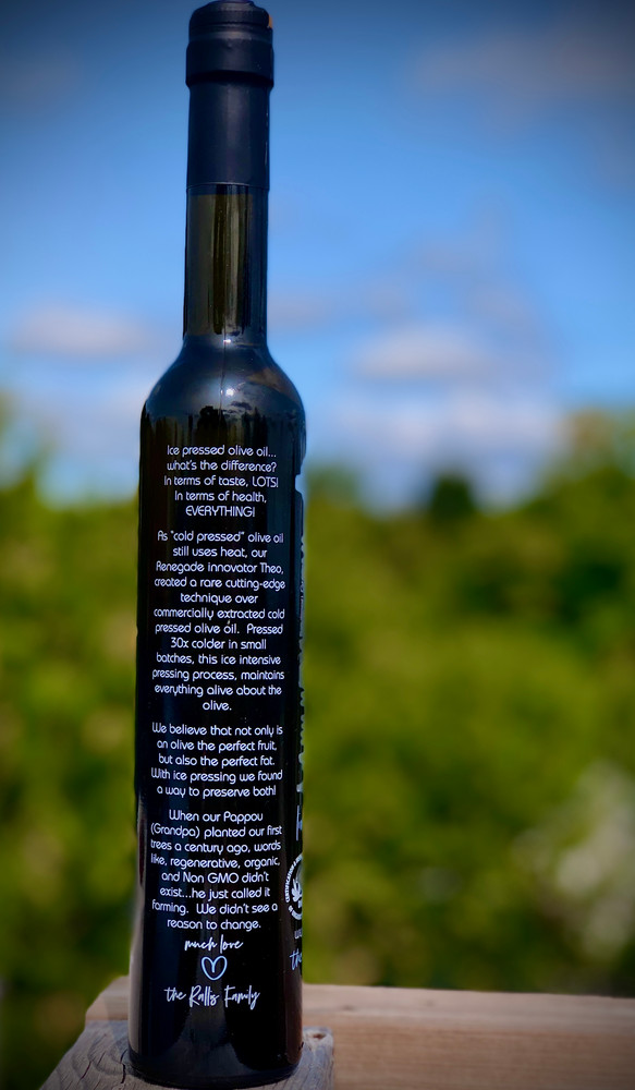 RALLIS RAW IcePressed® Olive Oil - 12x 375ml (Organic)