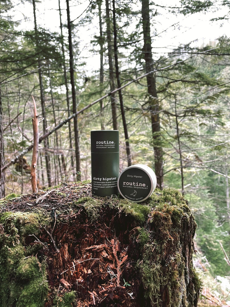 Dirty Hipster - Natural Deodorant by Routine Stick and Jar in the Woods