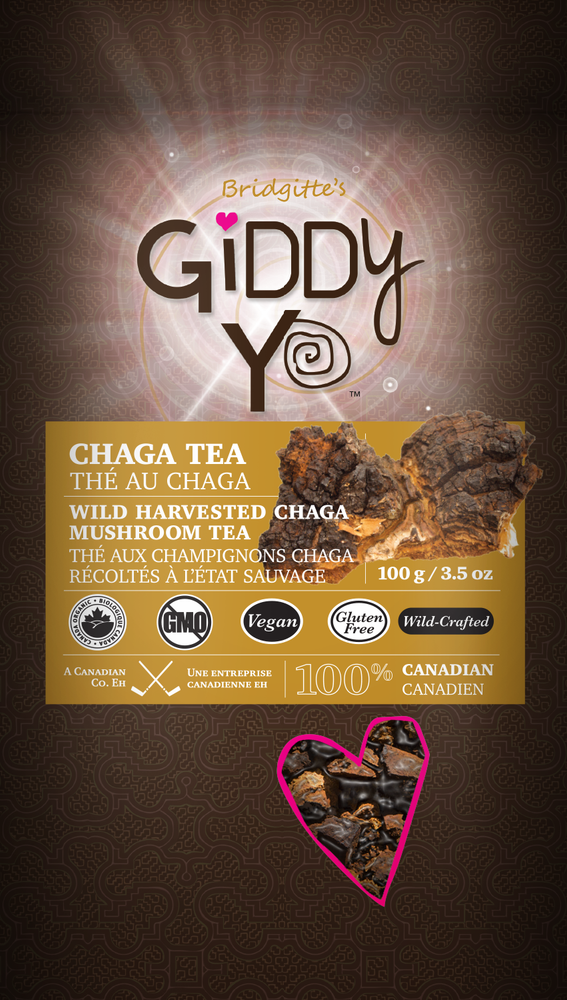 Chaga - Tea Cut (100% Canadian) 100g/3.5oz
