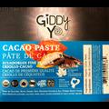 Giddy Yo CACAO PASTE (Ecuador), BULK 5 KG, Certified Organic Label