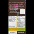 Giddy Yo Limon Salt 76% Dark Chocolate Bar Certified Organic 62g Back